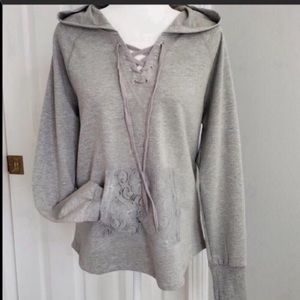 🆕✨Central Park Hoodie Gray Size S.